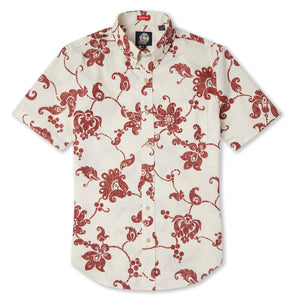 ALOHA PAREAU / TAILORED FIT BUTTON FRONT