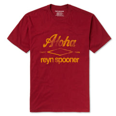 Reyn Spooner Aloha T Shirt in RED
