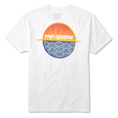 Reyn Spooner Sundown T Shirt in White