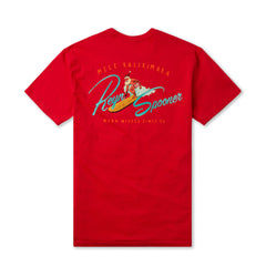 Reyn Spooner Hawaiian Christmas Tee in RED