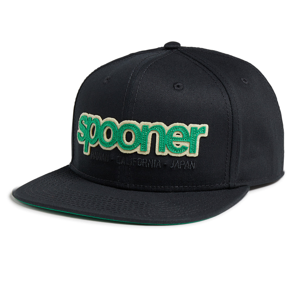 Reyn Spooner Team Spooner Hat in BLACK