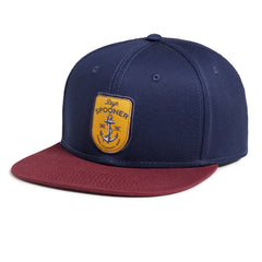 Reyn Spooner Captains Quarters Cap in NAVY
