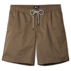 Reyn Spooner Men's beach shorts in Khaki with drawstring elastic waistband