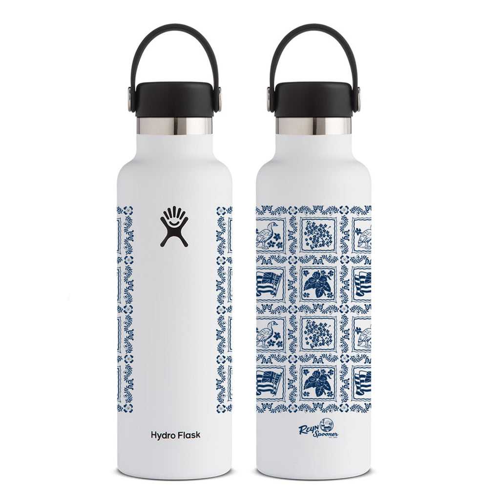 Reyn Spooner LAHAINA SAILOR HYDRO FLASK 21 OZ. in WHITE