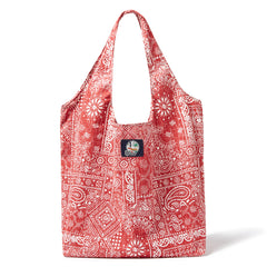 Aloha Bandana Reusable Bag in CARDINAL