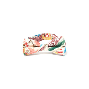 Reyn Spooner Hawaiian Christmas Bow Tie in MAROON