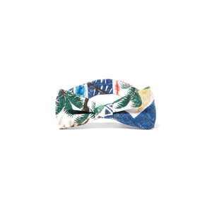 Reyn Spooner Hawaiian Christmas Bow Tie in ROYAL
