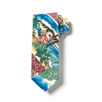 Reyn Spooner Hawaiian Christmas Neck Tie in MAROON