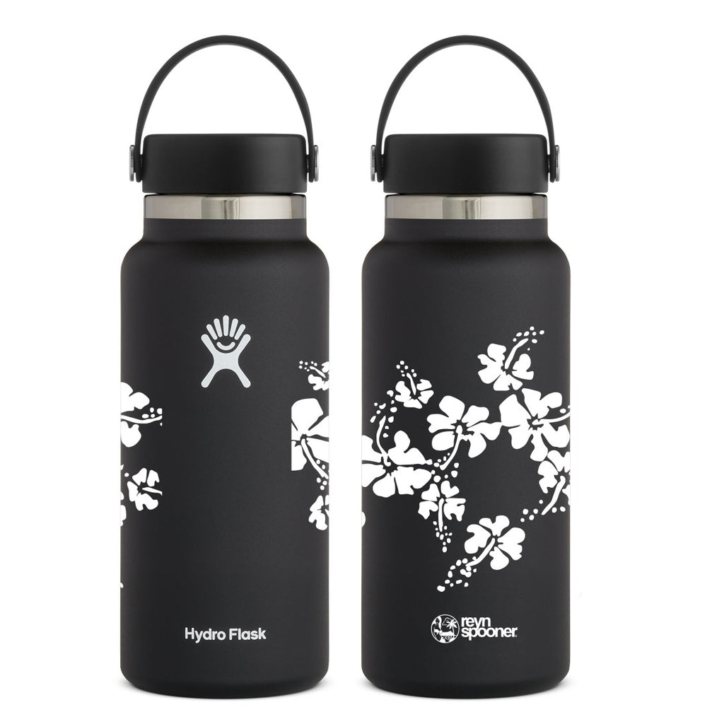 Reyn Spooner 50TH STATE HYDRO FLASK 32 OZ in BLACK