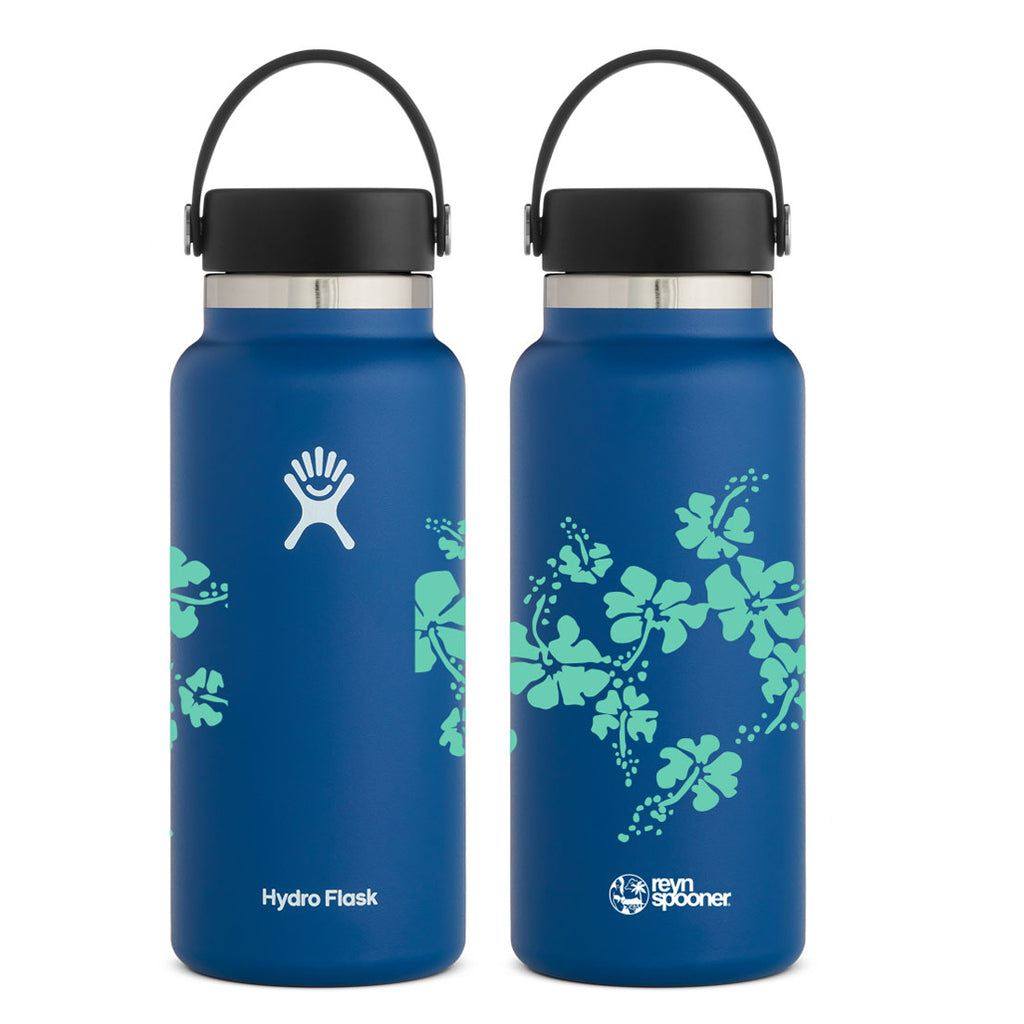 Reyn Spooner 50TH STATE HYDRO FLASK 32 OZ in COBALT