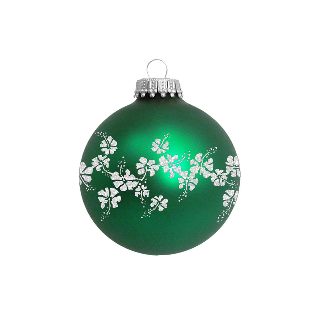 Reyn Spooner 50TH STATE FLORAL ORNAMENT in GREEN
