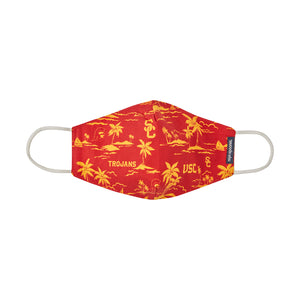 Reyn Spooner UNIVERSITY OF SOUTHERN CALIFORNIA ALOHA MASK in CARDINAL