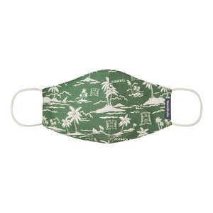 UNIVERSITY OF HAWAII ALOHA MASK / 100% Cotton