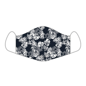 Reyn Spooner FESTIVE FOLIAGE ALOHA MASKS REGULAR in DRESS BLUES