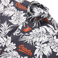Reyn Spooner BALTIMORE ORIOLES ALOHA MLB in BLACK