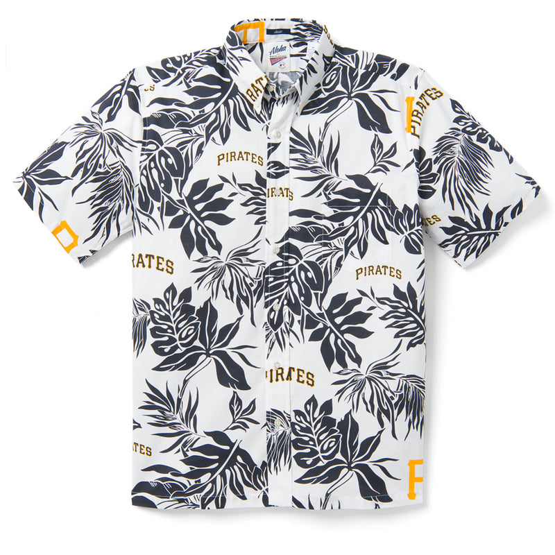 Reyn Spooner PITTSBURGH PIRATES ALOHA MLB in WHITE