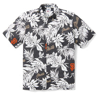 Reyn Spooner SAN FRANCISCO GIANTS ALOHA MLB in BLACK