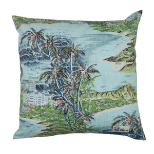 DIAMOND HEAD / PILLOW COVER SET