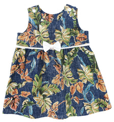 Kohala Lau Bow Dress (2T - 4T)