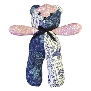 LAHAINA SAILOR / TEDDY BEAR - PINK, BLUE & WHITE
