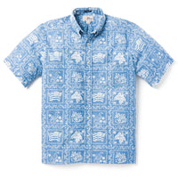 Reyn Spooner Lahaina Sailor BUTTON FRONT in DENIM