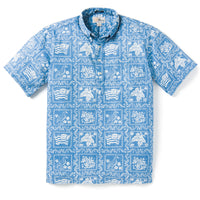 Reyn Spooner Lahaina Sailor PULLOVER in DENIM