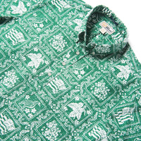 Reyn Spooner Lahaina Sailor / Classic Fit Weekend Wash Pullover in GREEN