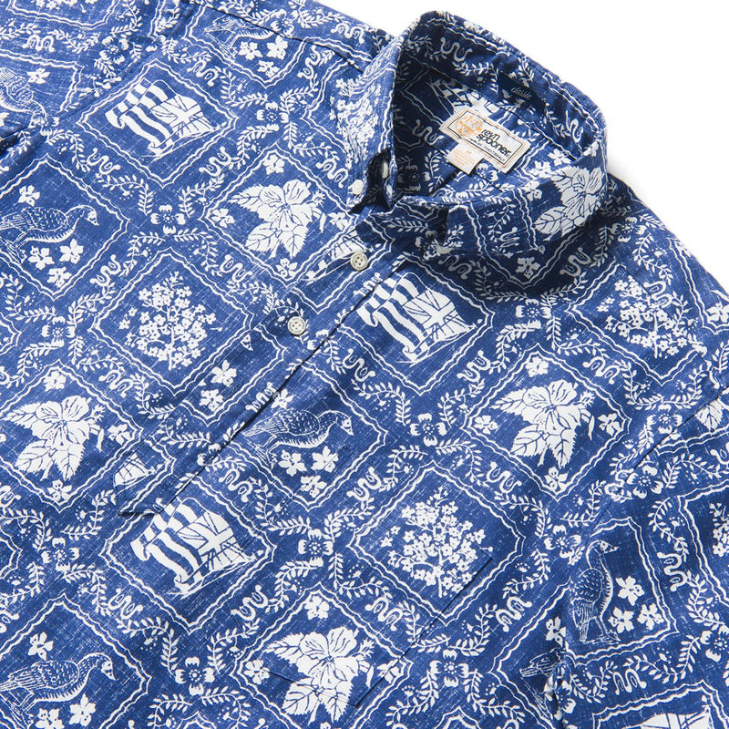 Reyn Spooner Lahaina Sailor PULLOVER in NAVY