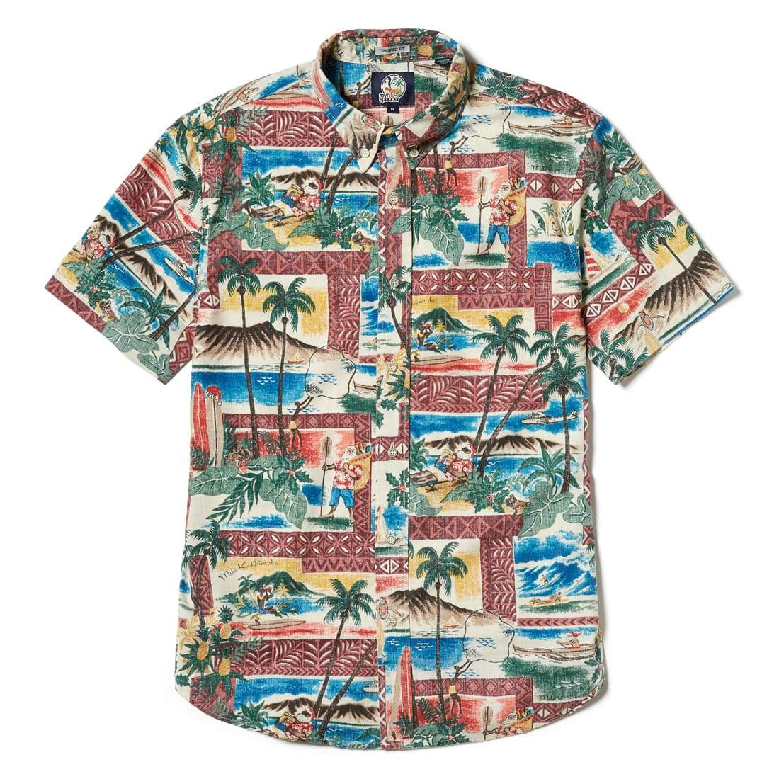 HAWAIIAN CHRISTMAS 2018 / WEEKEND WASH TAILORED FIT - Zoomed