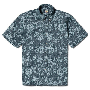 Reyn Spooner Royal Chrysanthemum Classic Fit Button Front in NAVY