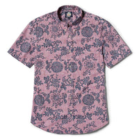 Reyn Spooner Royal Chrysantemums Weekend Wash Tailored Fit in LAVENDER