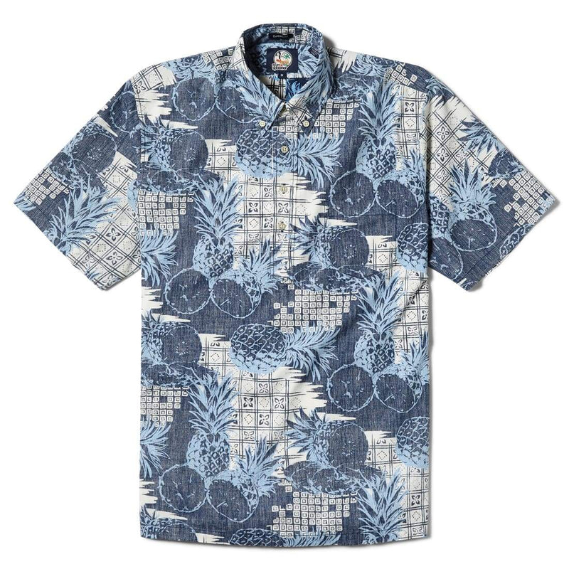 Reyn Spooner Hookipa Classic Fit Button Front in INK