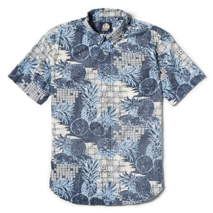 Reyn Spooner Hookipa Tailored Fit Button Front in INK