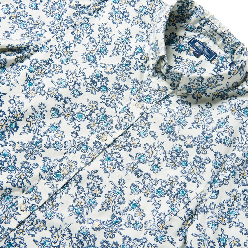 Reyn Spooner WILD FLOWERS ARCHIVE CLASSIC TAILORED FIT MARSHMALLOW