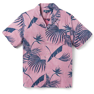 Reyn Spooner SOUTH PACIFIC PALMS CAMP SHIRT MELLOW MAUVE
