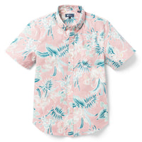 Reyn Spooner ORCHID BLOOM TAILORED FIT HOT CORAL