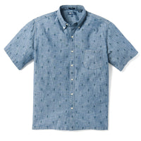 Reyn Spooner MINI NORFOLK PINE CLASSIC FIT BUTTON FRONT CHAMBRAY