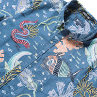Reyn Spooner DEEP SEA JIVE TAILORED in DARK BLUE
