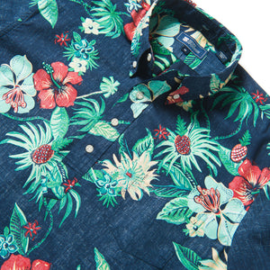 Reyn Spooner HANA IN PARADISE PULLOVER in DRESS BLUES