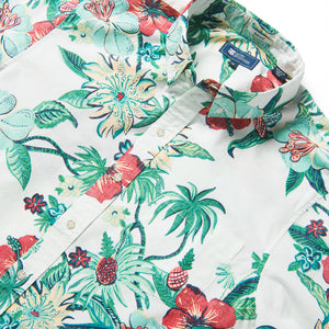 Reyn Spooner HANA IN PARADISE TAILORED in MARSHMALLOW