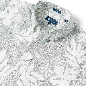 Reyn Spooner DOTTY PUALANI BUTTON FRONT in MARSHMALLOW