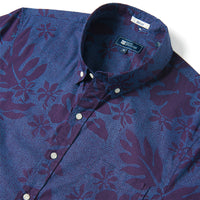Reyn Spooner DOTTY PUALANI TAILORED in PURPLE PLUMERIA