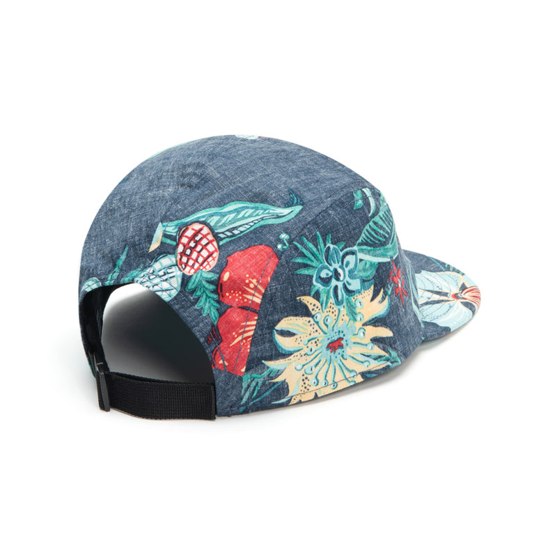 Reyn Spooner HANA IN PARADISE CAP in DRESS BLUES