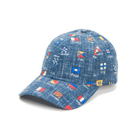 Reyn Spooner CHARLIE FOXTROT BASEBALL CAP in DRESS BLUES