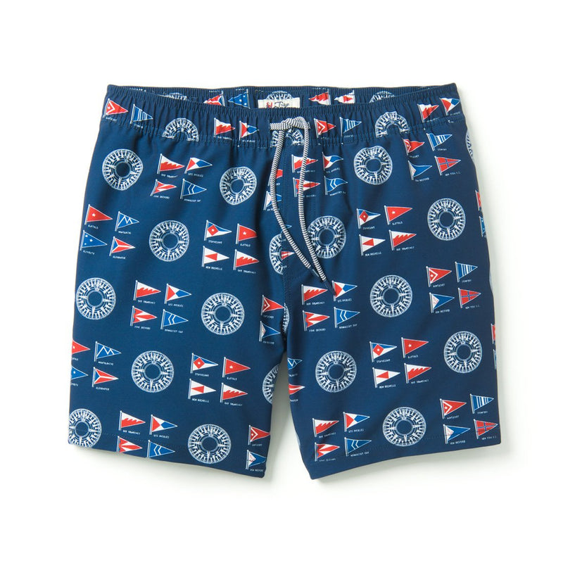 Reyn Spooner YACHTSMAN SWIMSUIT in DRESS BLUES