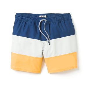 Reyn Spooner COLORBLOCK SWIMSUIT in GOLDEN APRICOT