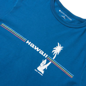 Reyn Spooner RETRO HAWAII GRAPHIC TEE in ENSIGN BLUE