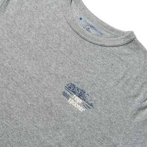 Reyn Spooner OLD SCHOOL REYN GRAPHIC TEE in HEATHER GREY