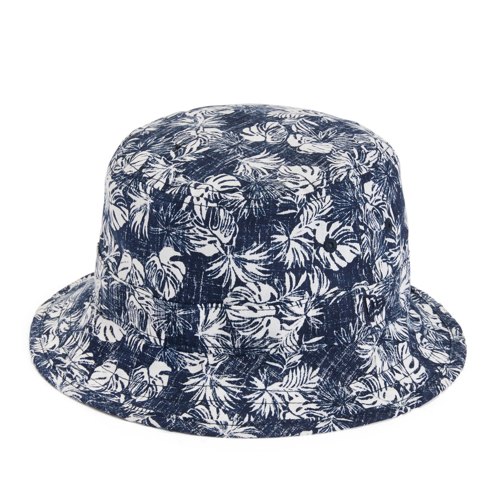 Reyn Spooner FESTIVE FOLIAGE BUCKET HAT in DRESS BLUES