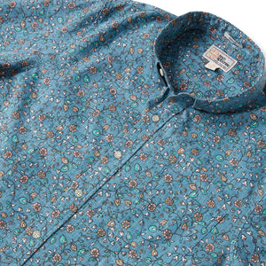 Reyn Spooner BANARAS TAILORED in REAL TEAL